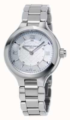 Frederique Constant Womans Delight Horological Smartwatch Silver FC-281WH3ER6B