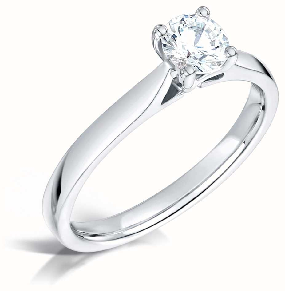 Certified Diamond Engagement Rings FCD28375