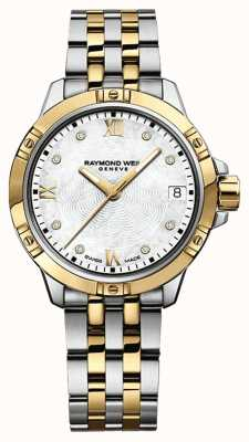 Raymond Weil Womans Tango Watch | Stainless Steel Strap | White Dial | 5960-STP-00995