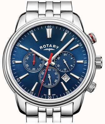 Rotary Mens Monaco Chronograph Blue GB05083/05