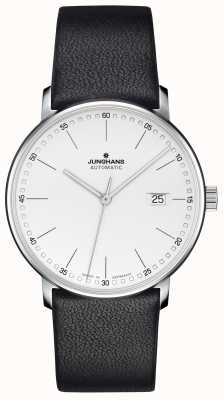 Junghans FORM A Calfskin Black Strap with Batons 027/4730.00