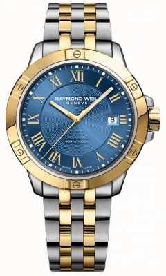 Raymond Weil Mens Tango Watch | Stainless Steel Strap | Deep Blue Dial | 8160-STP-00508