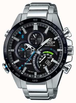 Casio Edifice Bluetooth Mens Tough Solar Racer EQB-501XDB-1AMER