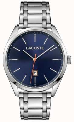 Lacoste Mens San Diego Navy Stainless Steel 2010912