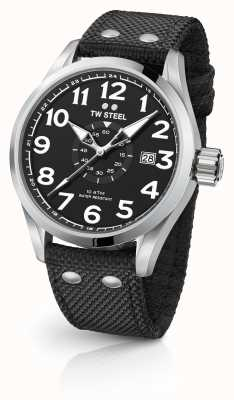 TW Steel Mens Volante Black 45mm VS1