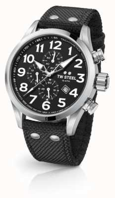 TW Steel Mens Volante Black 45mm Chronograph VS3