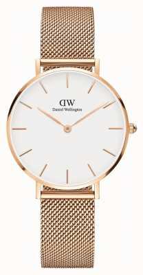 Daniel Wellington Womans Classic Melrose Petite Rose Gold Mesh DW00100163