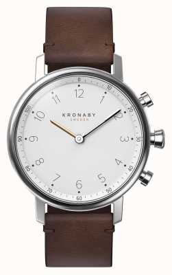 Kronaby 38mm NORD Bluetooth Brown Leather Strap A1000-0711 S0711/1