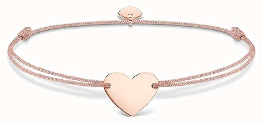 Thomas Sabo Sterling Silver Glam And Soul Little Secrets Rose Gold Heart LS005-597-19-L20V