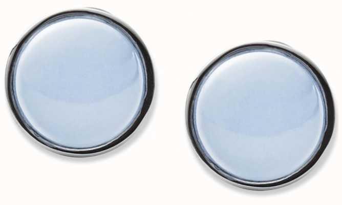 Skagen Womans Stainless Steel Sea Glass Earrings SKJ0820040