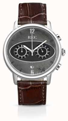 REC Mark 1 M1 Chronograph Brown Leather Strap M1