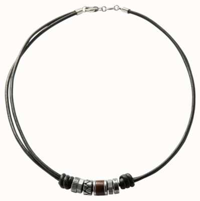 Fossil Mens Vintage Casual Stainless Steel Necklace JF84068040