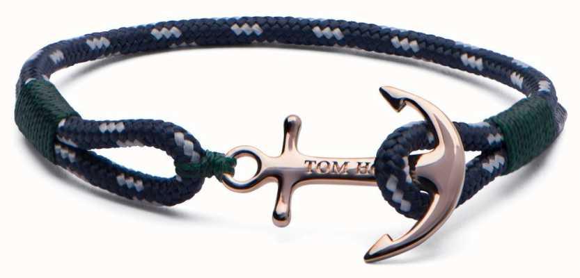 Tom Hope Solid Brass Anchor Mediterranean Small Bracelet TM0071