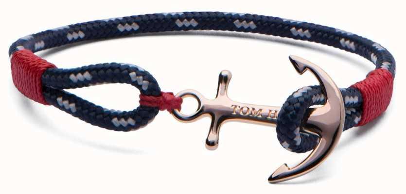 Tom Hope Solid Brass Anchor Pacific Bracelet Medium TM0082