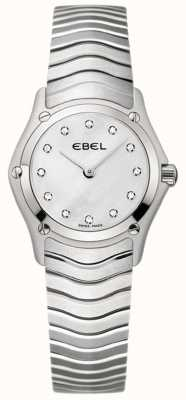 EBEL Classic Womens Stainless Steel Watch 1215421