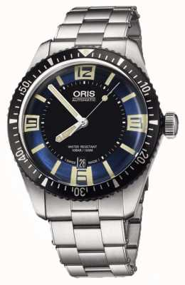 Oris Divers Sixty-five Automatic Stainless Steel Blue Dial 01 733 7707 4035-07 8 20 18