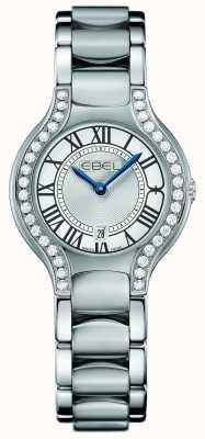 EBEL Womens Beluga Diamond Set Stainless Steel 1216069