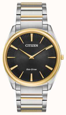 Citizen | Men's | Stiletto Ultra-Thin | Two Tone Bracelet | AR3074-54E