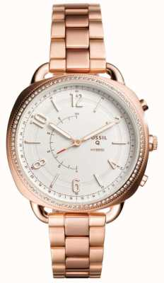Fossil Q Accomplice Hybrid Smartwatch Rose Gold Tone FTW1208