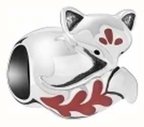 Chamilia Sleeping Fox Charm 2020-1043