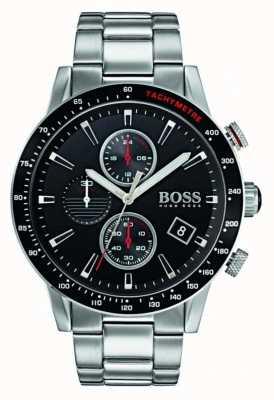 Hugo Boss Mens Rafale Chronograph Black Dial 1513509