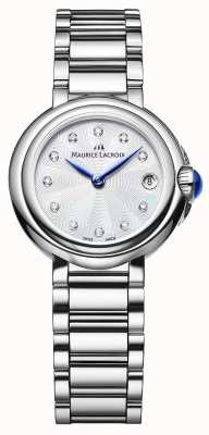 Maurice Lacroix Women's Fiaba 28mm Diamond Set Wristwatch FA1003-SS002-170-1