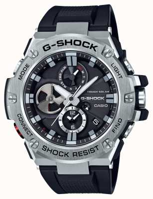 Casio G-Steel Bluetooth Triple Connect Mens Chronograph GST-B100-1AER