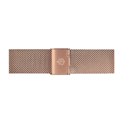 Paul Hewitt Jewellery Rose Gold Stainless Steel Mesh Bracelet 186mm PH-M1-R-4M
