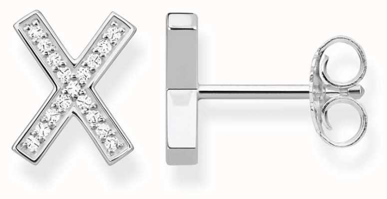 Thomas Sabo Sterling Silver Cross Studs H1952-051-14