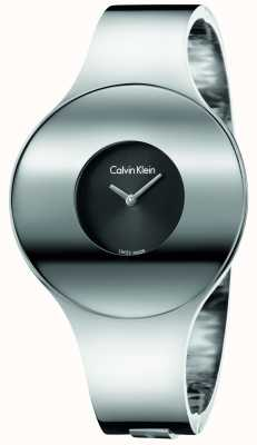 Calvin Klein Womans Silver Steel Seamless Watch Small K8C2S111