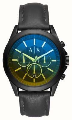 Armani Exchange Mens Drexler Leather Strap AX2613