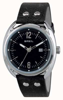 Breil Beaubourg Stainless Steel Black Dial Black Strap TW1669
