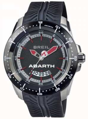 Breil Abarth Stainless Steel IP Black & Red Index Dial TW1486