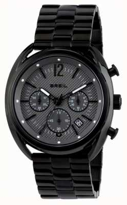 Breil Beaubourg Stainless Steel IP Black Chronograph Grey Dial TW1664