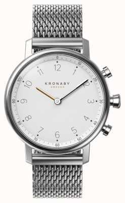 Kronaby 38mm NORD Bluetooth Steel Mesh Bracelet A1000-0793 S0793/1