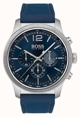 Hugo Boss Mens Professional Chronograph Watch Blue 1513526