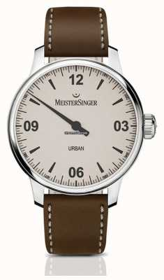 MeisterSinger Urban Tobacco Leather Strap | Automatic | UR913