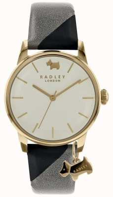 Radley Ladies 35mm Case Champ Dial With Dog Charm Ink/Ash RY2648