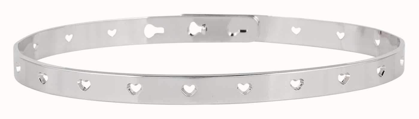 Mya Bay Stainless Steel Hearts Bangle JC-52.S