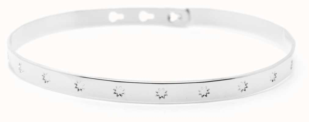 Mya Bay Stainless Steel Big Stars Bangle JC-31.S