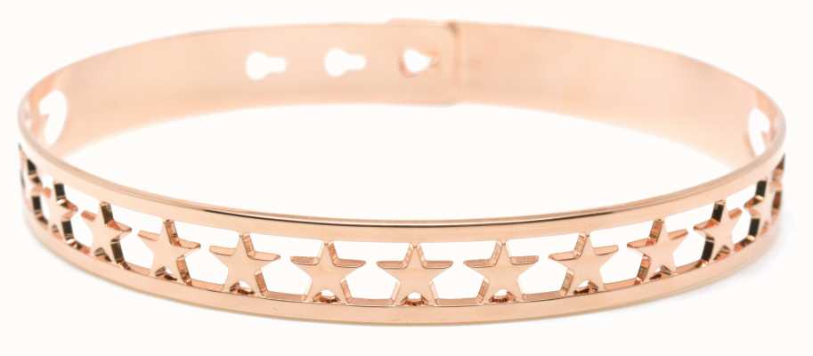 Mya Bay Rose Gold PVD Plated 20 Stars Bangle JX-03.P