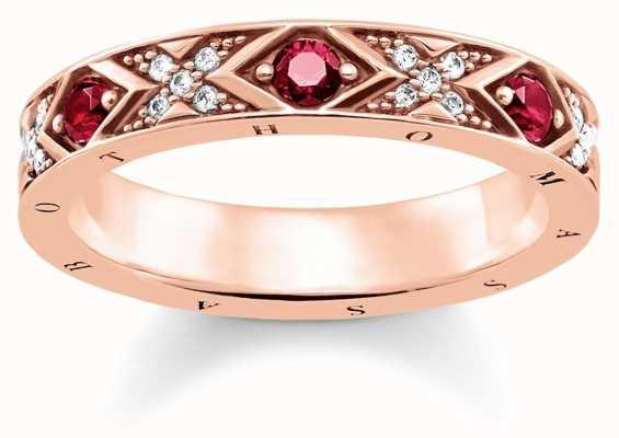 Thomas Sabo Womens Glam And Soul Asian Ornaments Ring TR2163-626-10-52