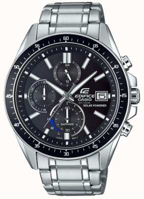 Casio Edifice Solar Sapphire Glass Stainless Steel EFS-S510D-1AVUEF
