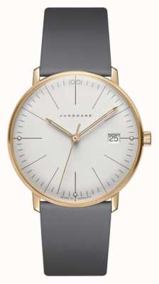 Junghans Max Bill Damen Quartz | Grey Strap 047/7853.04