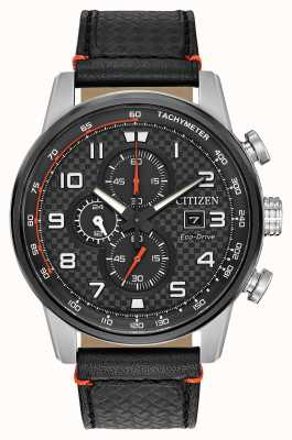 Citizen Men's Sport Chronograph Date Display 24 Hour Sub Dial CA0681-03E