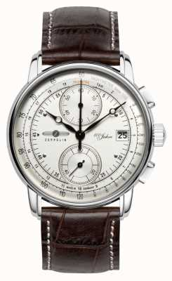 Zeppelin 100 Years Chronograph Date Display Stainless Steel Case 8670-1