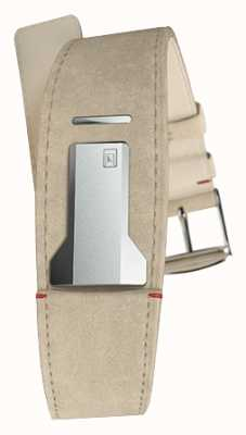 Klokers KLINK 01 Grey Alcantara Strap Only 22mm Wide 230mm Long KLINK-01-MC6