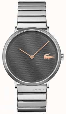 Lacoste Moon Grey Dial Stainless Steel Case & Bracelet 2010954