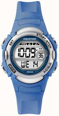 Timex Marathon Digital Sports Watch Light Blue Strap TW5M14400