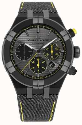 Maurice Lacroix Limited Edition Aikon 'Chase Your Watch' Black Strap AI6018-PVB01-331-1